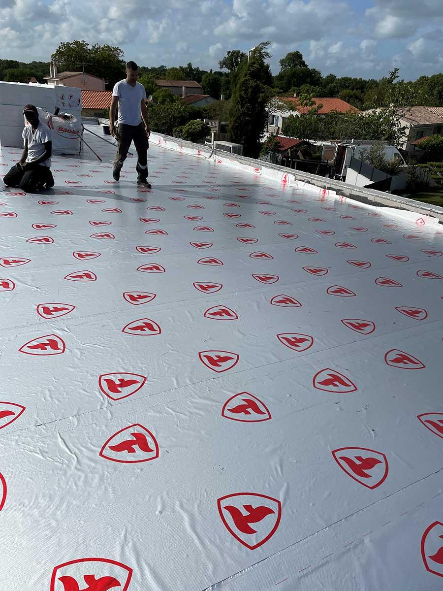 étanchéité toit terrasse isolant